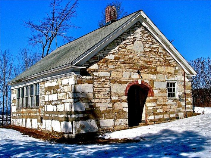 stone one room school house